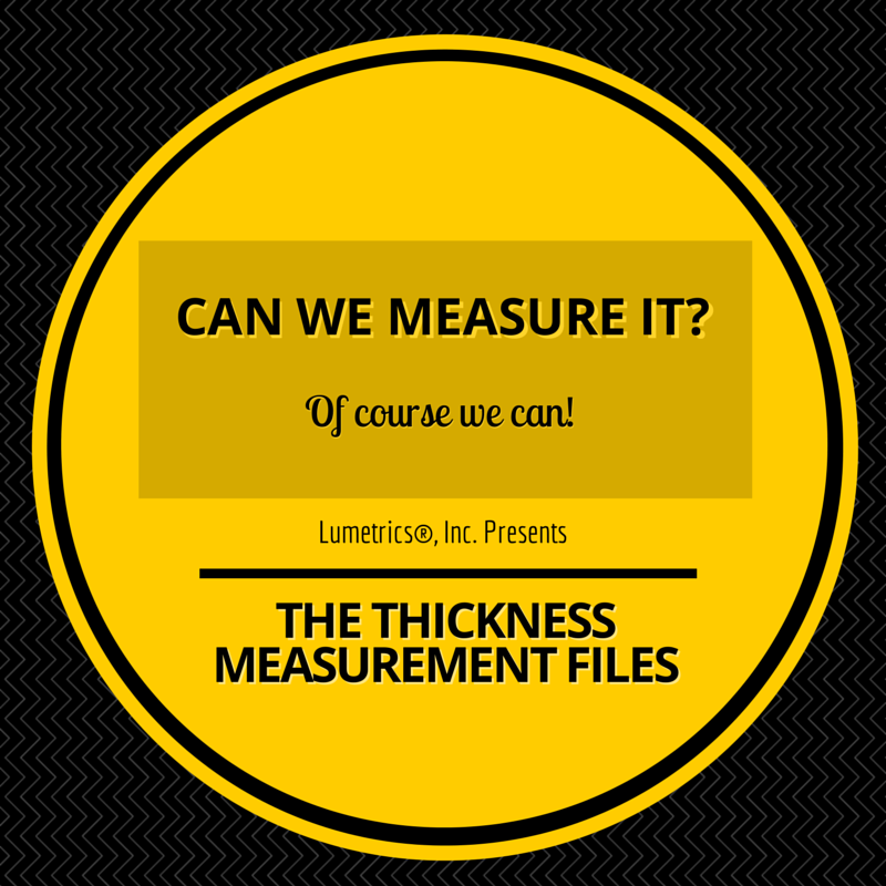 Thickness measurement demonstrations