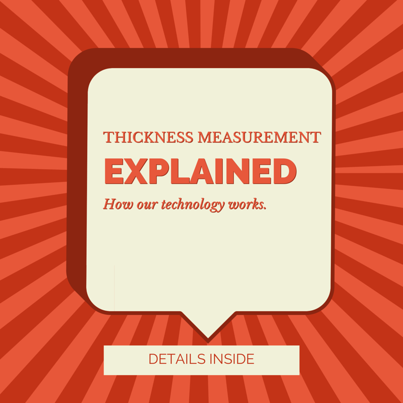 Thickness measurement explained